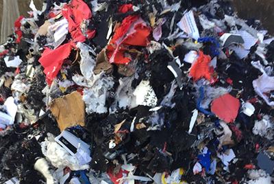 Destruction des déchets
