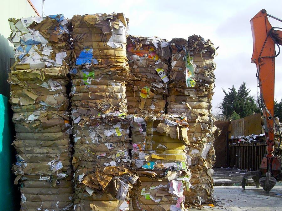 Vente papier carton recyclés