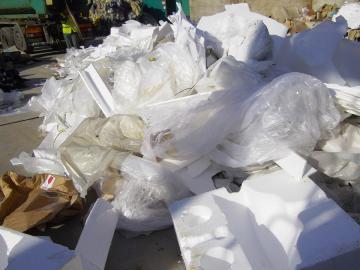 Plastique destiné au recyclage