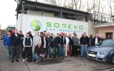 L'équipe Sorevo en chiffres