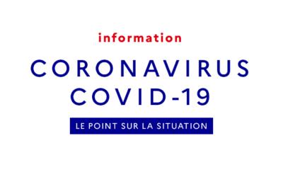[Communiqué] Informations COVID-19